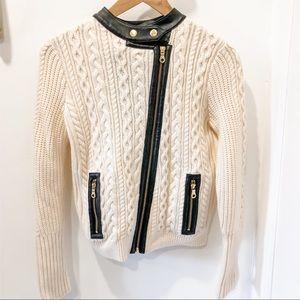 NWOT Club Monaco knit cardigan perfecto